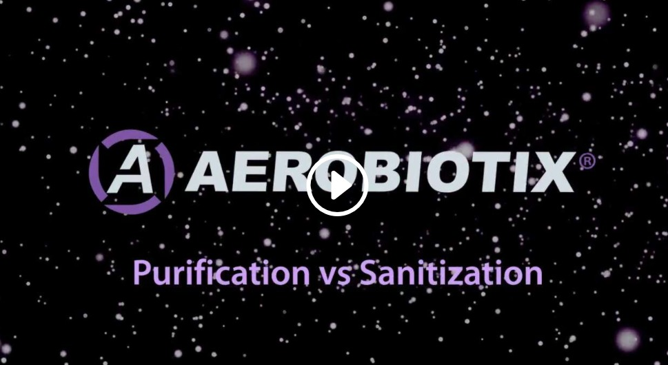 Whats the difference between Air Purification and Air Sanitization